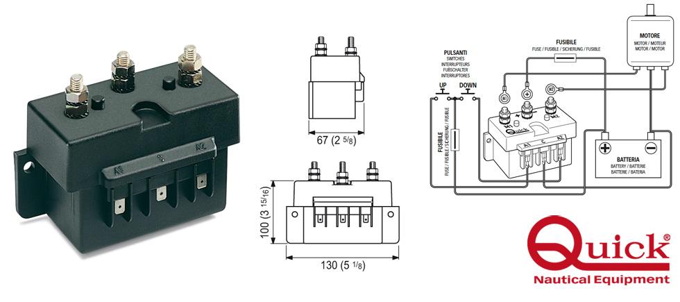 Teleruttore 12v 3000w mod 5100 ebay for Teleruttore schema