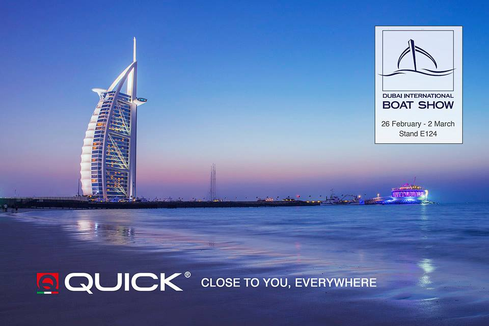 Quick at DUBAI INTERNATIONAL BOAT SHOW