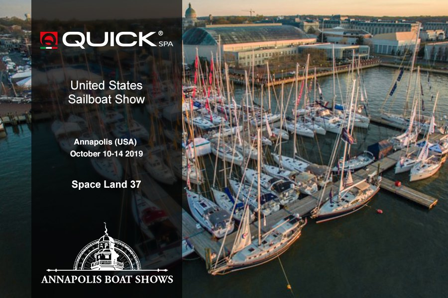 Quick SpA all'ANNAPOLIS  Sailboat Show 2019