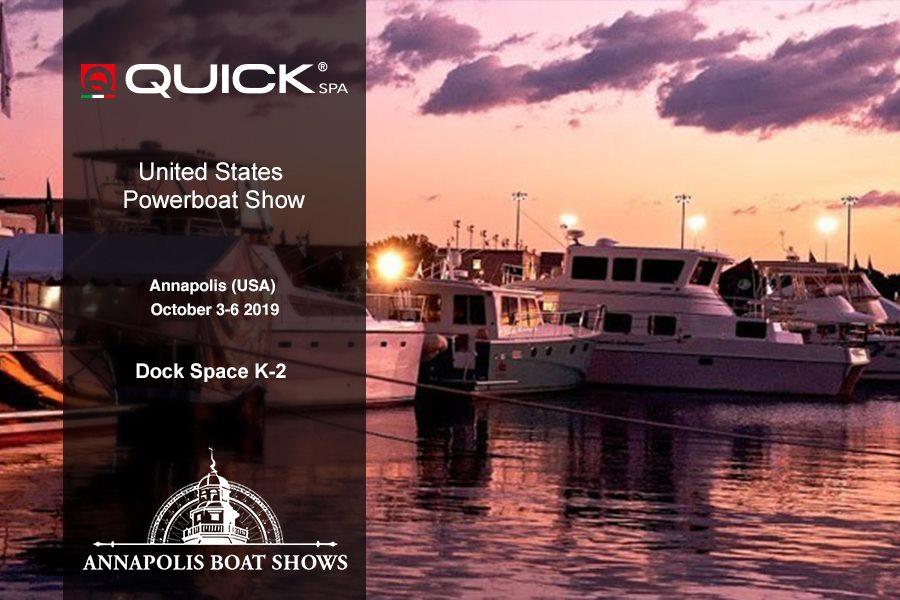 Quick SpA all'ANNAPOLIS  Boat Show 2019