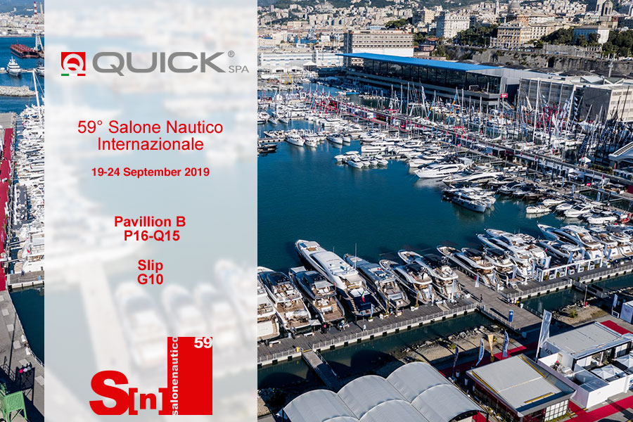 Quick SpA al Salone Internationale di Genova 2019