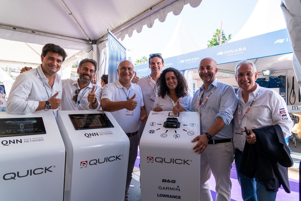 WORLD PREMIERE AT THE CANNES YACHTING FESTIVAL FOR QNN