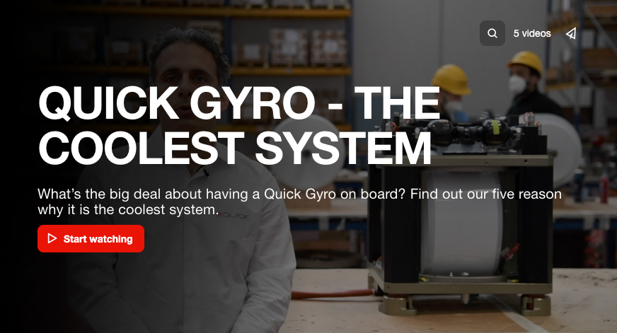 QUICK GYRO: THE COOLEST SYSTEM