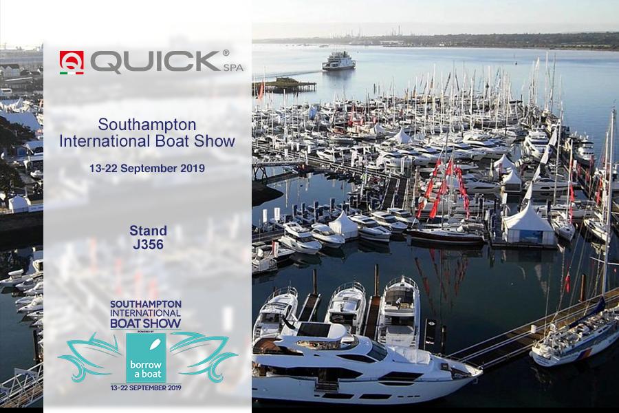 Quick SpA at Southampton International Boat Show 2019